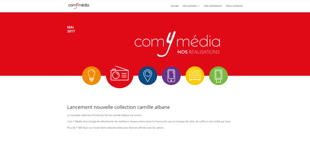 Site internet Com Y Média