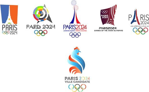 Propositions de logo Paris 2024